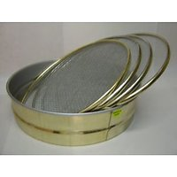 Set Of 4 Jali Stainless Steel Folding Chalni No.09