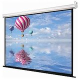 7 X 5 Wall Type Swastik Brand High Gain Projector Screen Usa... Uv Cotted Imported Fabric Usa H.gain 5 Layer Pesting Clone