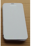 Premium Flip Cover For Karbonn Titanium S5 White + Scratch Guard