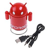 Android Mini Speaker 3.5mm Interface Support TF Card FM Radio