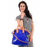 Bright Shoulder Bag - Electric Blue