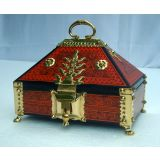 Kerala Traditional Jewelery Box - Nettoor Petti/Nettoor Box