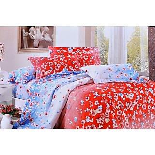 Valtellina Polycotton Floral 2 Pcs Single Bed sheet Set (OE-007)