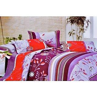 Valtellina Polycotton Floral 2 Pcs Single Bed sheet Set (OEN-011)