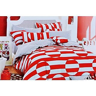 Valtellina Polycotton Checkered 2 Pcs Single Bed sheet Set (OEN-014)