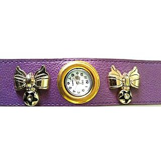 Purple Star Funky Strap Watch - 720
