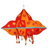 Modern Applique Multicoloured Sabik Lampshade