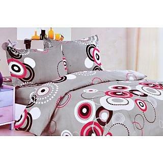 Valtellina Polycotton Abstract 2 Pcs Single Bed sheet Set (OEN-024)