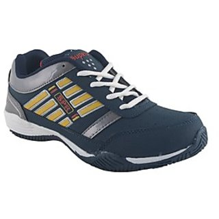 Superb Shoes 1028 SUP-5046 White-Blue-Yellow