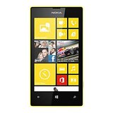 Nokia Lumia 520 Yellow with capdase case and scrren guard
