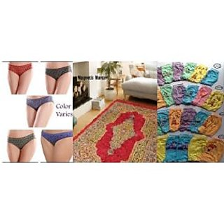 Home Passion Designer Vintage Carpet with 5 panti and 6kids bloomers medium size