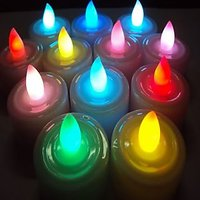 7 Colour Auto Changing LED Candles
