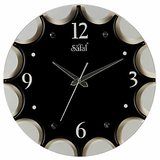 Mebelkart Star Shaped Wall Clock : Black