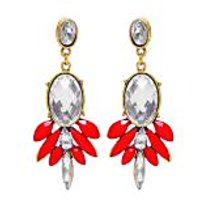 Jewelz Golden Orange Earring