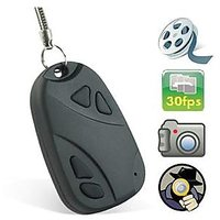 Spy Keychain Hidden Camera Motion Detection Audio Video Recording Spy Camera