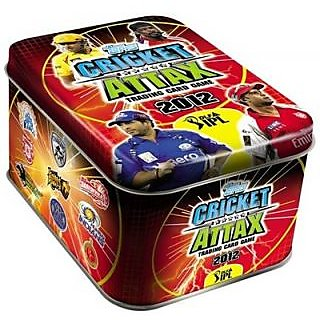 Topps IPL 2012 Cricket Attax Tin Box