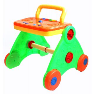 Activity Baby Walker - Colorful  Interactive (Green)