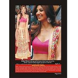 Bollywood Replica - Shilpa Shetty  Designers Lahenga For Festive Season