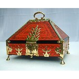 NETTOOR BOX (NETTOOR PETTI) - ANTIQUE JEWELRY BOX , GIFT AND HOME DECORATION