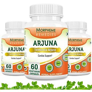 Morpheme Terminalia Arjuna Supplements For Heart Care