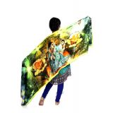 Indian Vivaa Digital Multi Colour Printed Designer Shawl And Stole En 2 3 4 5 6 7 8 9 10 11 12 13 14