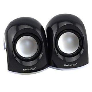 Kolorfish S630 USB Speakers (BLACK)