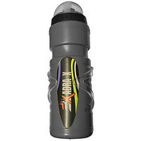 AdraxX Plastic Water Sipper with Holder for Cyclists 750 ml (Pack of 1, Grey)