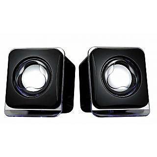 Technotech 9205 Wired Desktop Speaker(Black, 2 Channel)
