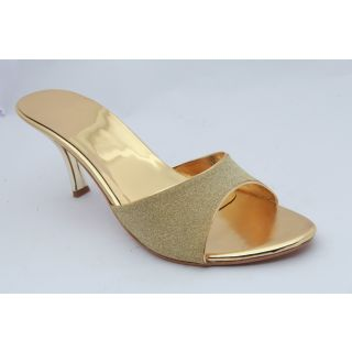Get Glamr Women Golden Sandals-N7031
