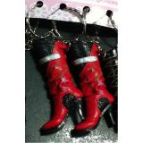 Lady Shoe Red Shoe Keychain (Pair Of 2pcs) - New Launch Perfect Gift Of Your Loved Ones