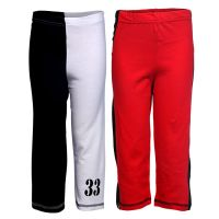 Goodway Pack Of 2 Boys Cut-Sew & Double Colour Full Pants (JB2PCKPANT-CMB4)