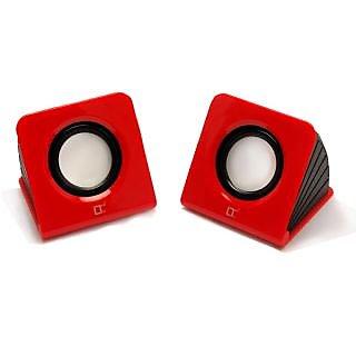 Live Tech LT-laptop speaker - 628 Black/Red