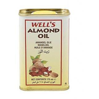 WELLS ALMOND OIL - 175ML
