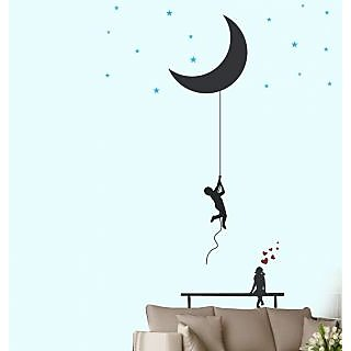 Walltola Wall Decal - Catch The Moon And Stars 57122 (Dimensions 100x170cm)