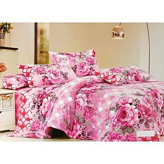 Valtellina Polycotton Floral Double Bedsheet (RBY-00006)
