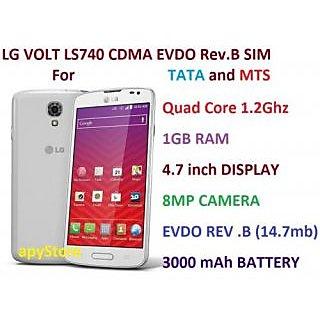 LG VOLT LS740 (1GB RAM, 8GB)