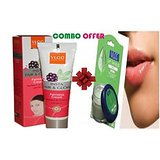 COMBO OF  Insta Fair & Glow Fairness Cream & Lip Balm