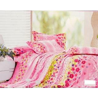 Valtellina Polycotton Floral Double Bedsheet (RBY-000030)