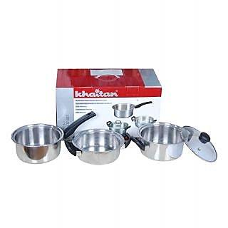 Khaitan Induction Cookware Set- 4 Pcs MRP. 1990 OFFER PRICE 1099