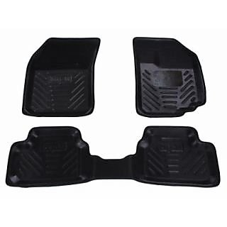 Digifit Car Floor Mats Black Color Vw Polo