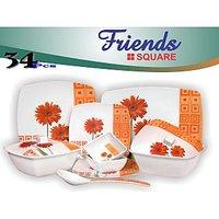 Friends Melamine 34 Pcs Dinner Set