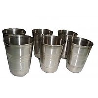 Stainless Steel Glass Set 6 Pcs