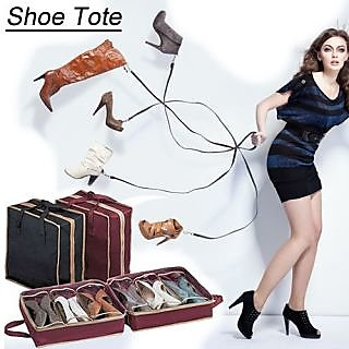 Shoe Tote Shoe Rack The Perfect Shoe Organizer Portable Shoe RackH5FR8