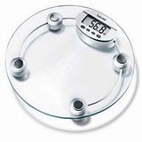 Digital LCD Electronic Weighing Scale Machine Round available at ShopClues for Rs.595