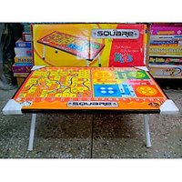 KIDS BED/STUDY TABLE WITH BOARD GAMES OUTLAY