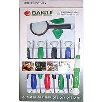 11 Pieces PC Tool Kit / Screw Driver Set For Mobile, Baku Mobile Tool Kit