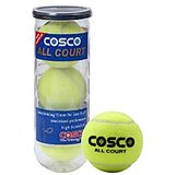 Cosco ALL COURT TENNIS BALL (Pack of 6)
