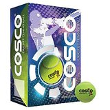 Cosco CRICKET (HI-BOUNCE) CRICKET TENNIS BALL (Pack of 12)