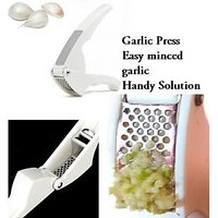 Best Price Steel Garlic Crusher Ginger Press Clamp Crusher Daily Kitchen Gadget Tool