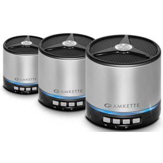 Amkette Metal Bluetooth Speaker